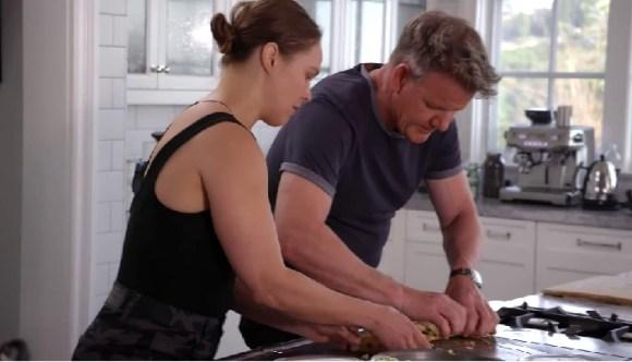 Ronda Rousey Quarantine Kitchen