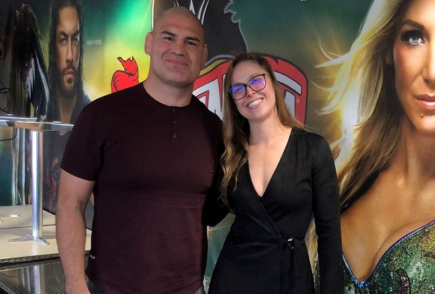 Ronda Rousey and Wrestler