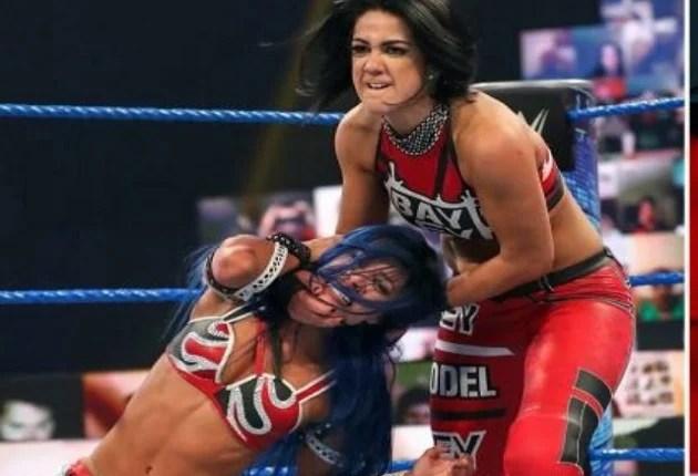 Bayley Turns on Sasha Banks