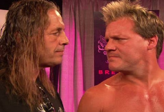 Bret Hart and Chris Jericho