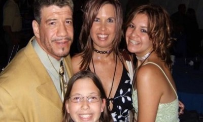 Eddie Guerrero and daughter