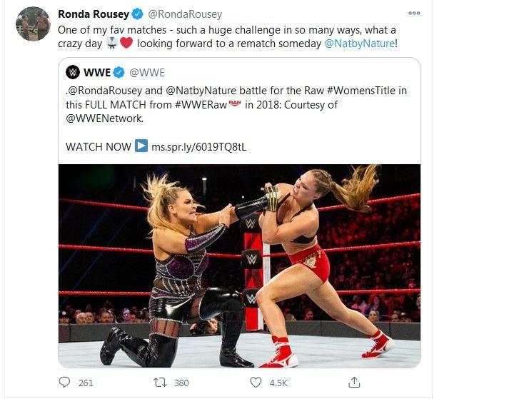 Ronda Natty tweet