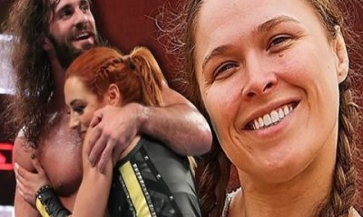 Ronda Rousey, Seth Rollins Liking Becky Lynch