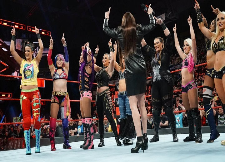 Stephanie McMahon WWE Royal Rumble