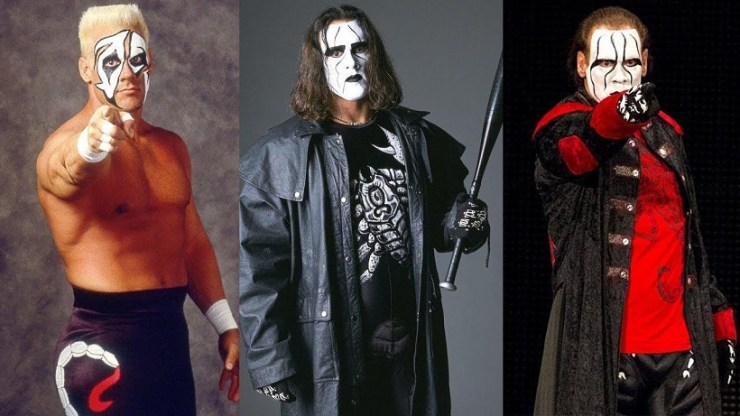 Sting WWE Transformation