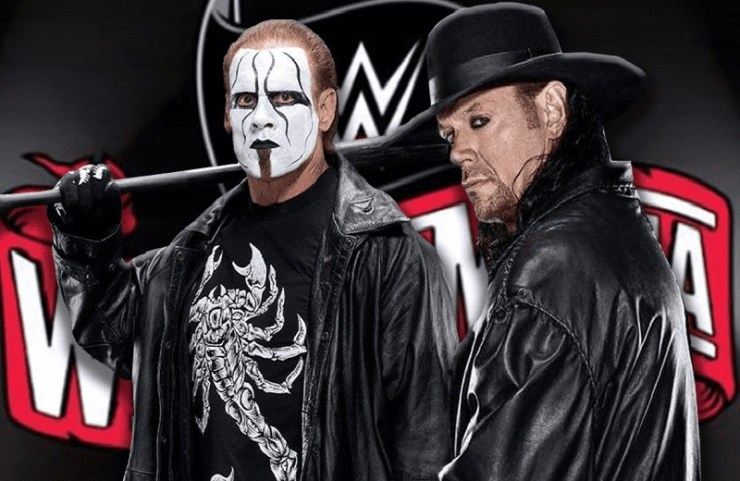 The Undertaker vs Sting WWE WrestleMania Rumors