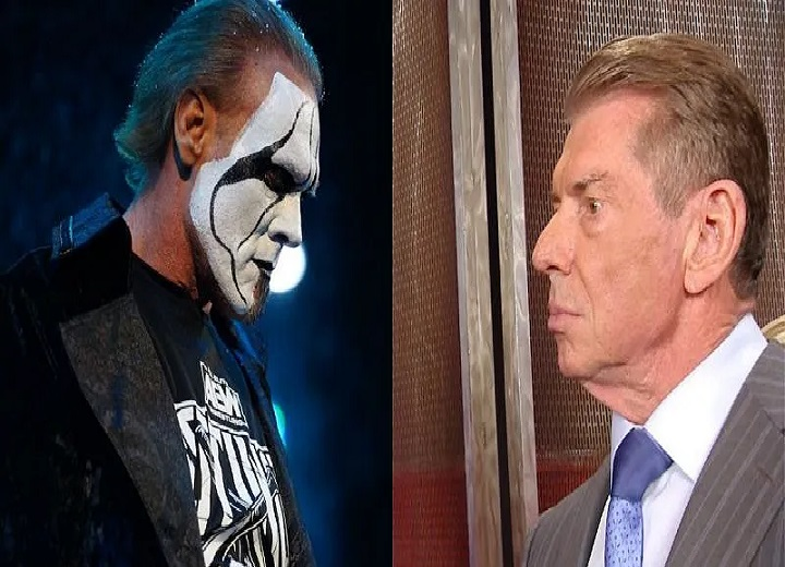 Vince McMahon and Sting