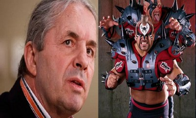 Bret Hart Recalls Road Warrior Hawk and Animal