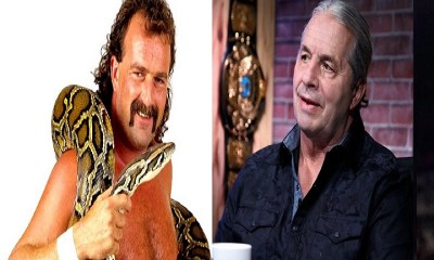 Jake Robert and Bret Hart