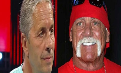 Bret Hart and Hulk Hogan