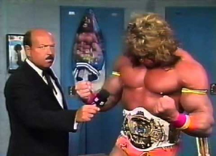 Mean Gene interviews Ultimate Warrior