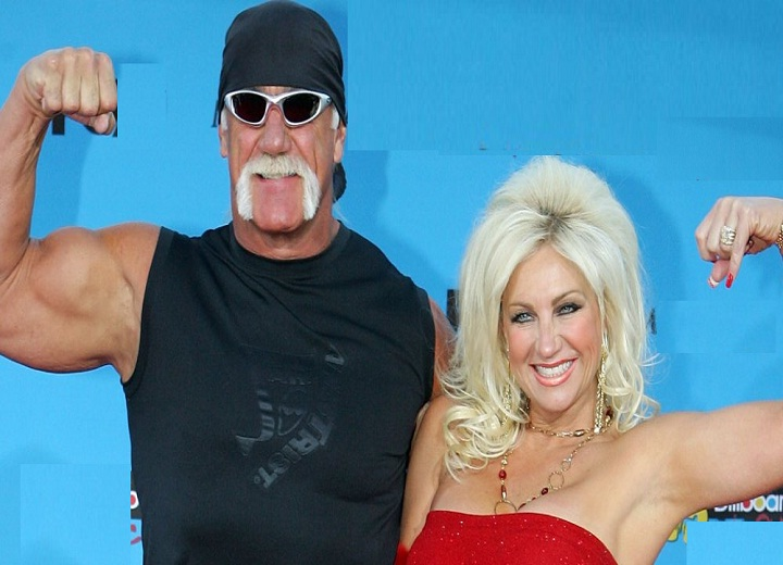 Linda and Hulk Hogan