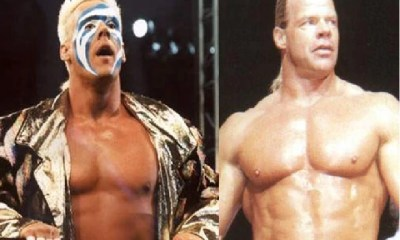 Sting and Lex Luger WCW