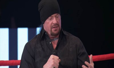 undertaker near death
