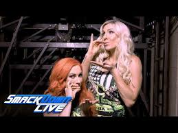 Charlotte Flair With Becky Lynch
