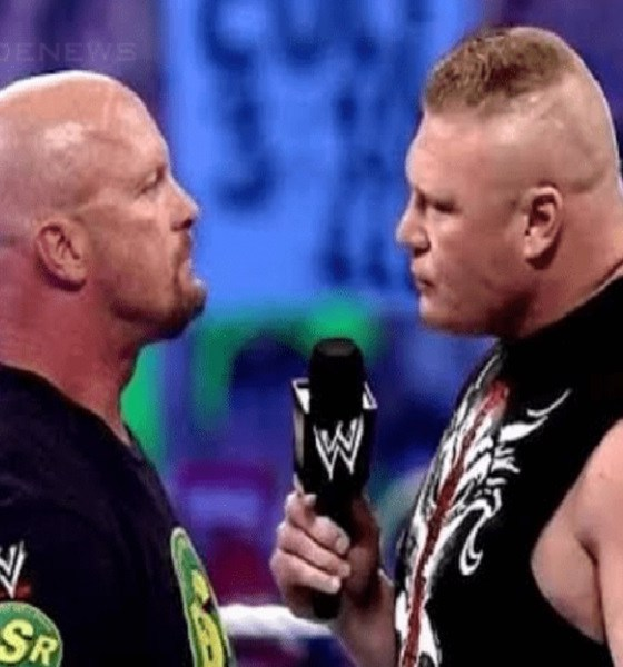 Brock Lesnar steve austin