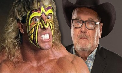 Jim Ross and The Ultimate Warrior