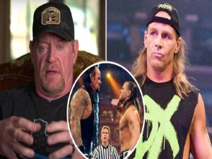 undertaker and shawn michaels
