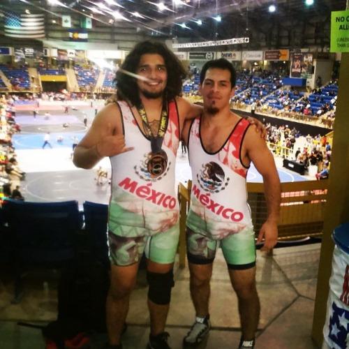 #wrestling #luchador #mexican #singlet #american #blood #bronze...