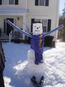 Wrestling Snowman