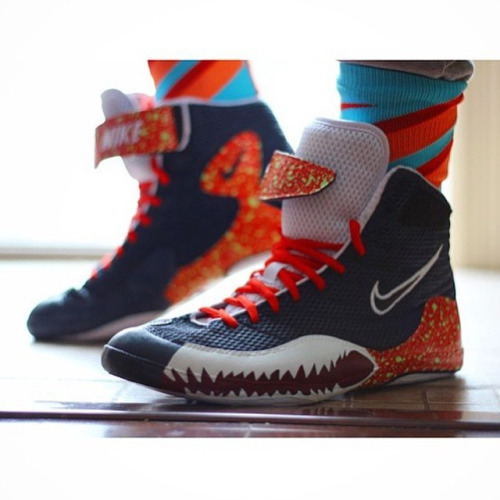 "Custom ""Piranha"" Nike Inflicts"