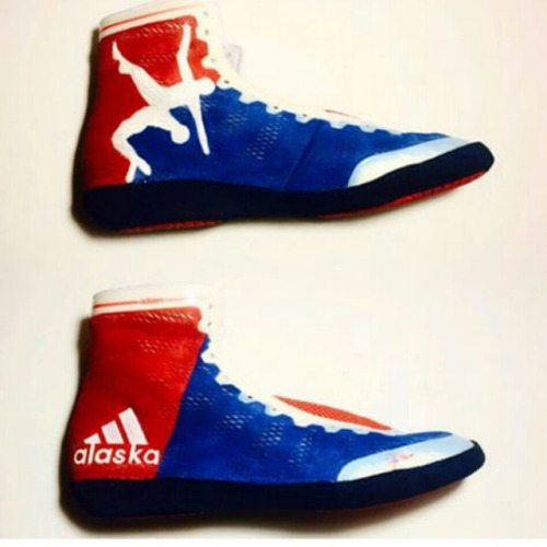 Want these shoes so bad? #usawrestling #badass via...