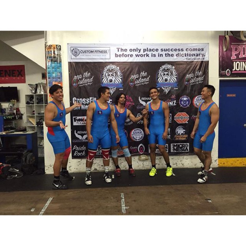 Ladies, the men of the Guam Weightlifting Federation #MCM...