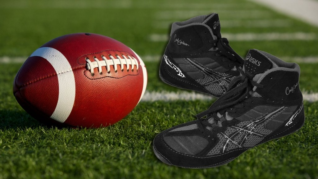 Football and Wrestling Shoes