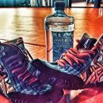 Water and wrestling shoes