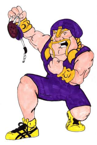 Wrestling Viking