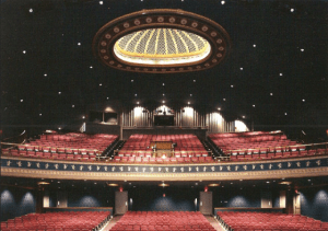 Interior of the Reg Lenna Center for the Arts in Jamestown.