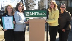 M&T Bank Collecting Personal Hygiene Items For Month of March