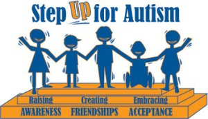Step Up for Autism Celebration is Saturday September 27