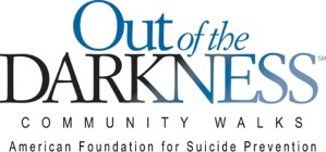 'Out of the Darkness' Suicide Awareness Walk Scheduled for Sept. 20