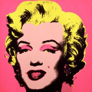 A portrait of Marylin Monroe by Andy Warhol. One of several pieces that will be on display at JCC during the Warhol Effect Exhibit.