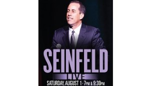 Seinfeld Tickets for 2015 Lucy Comedy Festival Go on Sale to General Public Monday Morning