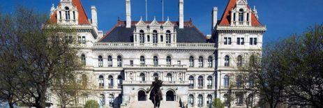 The State Capitol, Albany NY.