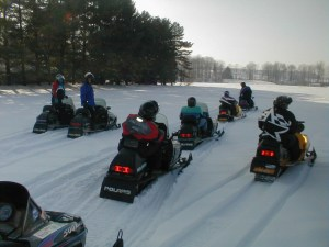'Old Fashioned' Winter Results in Strong Snowmobile Season