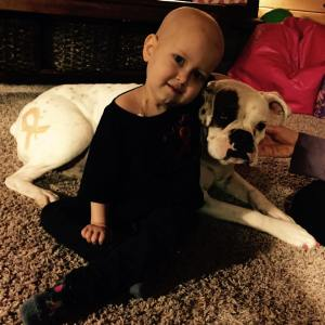 Kallie Swan died Wednesday, May 6 after a courageous battle with cancer.  (image from Kallie's Krusade Facebook page)