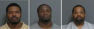 Three Arrested in Separate Drug Raids