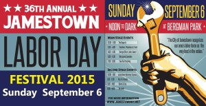 2015 Jamestown Labor Day Festival is Sunday Sept. 6