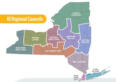 Economic Development Council Regions