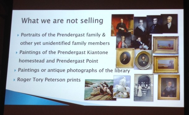 Another slide used during the Prendergast Library's Sept. 17 powerpoint presentation.