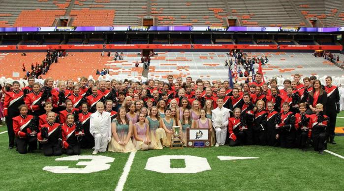 Jamestown High School Marching Band, 2015 State Champions