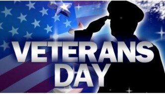 Veterans Day Events Scheduled for Sunday, Nov. 11