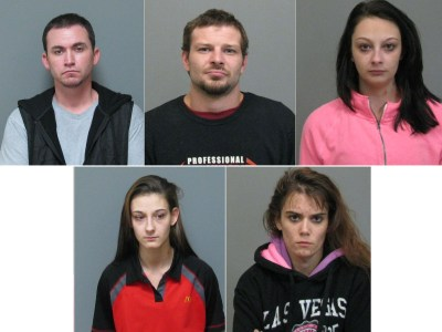 Falconer Trailer Park Drug Arrests 2