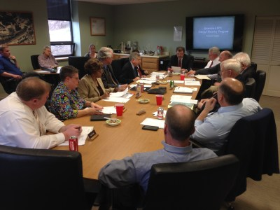 The Jamestown Board of Public Utilities during its meeting on February 29, 2016.