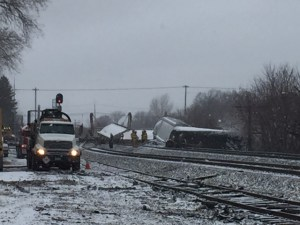 Effort to Contain Ethanol Spill Underway Following Train Derailment in Ripley