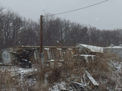 The cause of the derailment on Tuesday, March 1, 2016 remains under investigation. (Image courtesy of Bryce Johnson)
