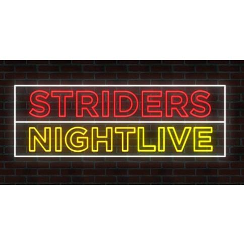 Strider Night Live Logo